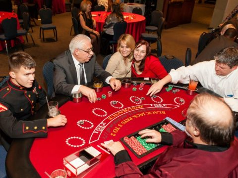 casino themed parties and events